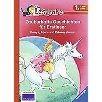 Zauberhafte Geschichten für Erstleser. Ponys, Feen und Prinzessinnen (Leserabe - Sonderausgaben)