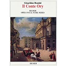 Il Conte Ory (The Count Ory): Vocal Score