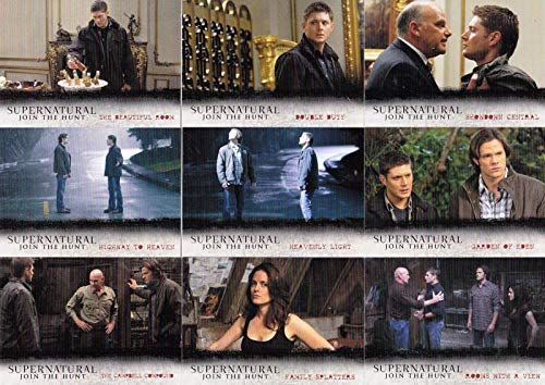 SUPERNATURAL SEASONS 4-6 2016 CRYPTOZOIC COMPLETE NOTABLE LOCATIONS INSERT CHASE CARD SET L10 - L18