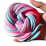 Fluffy Butter Slime, Kariwell Fluffy Floam Slime Scented Stress Relief Kids Toy Sludge Toy Great Gift for Boys Girls Adults (A)