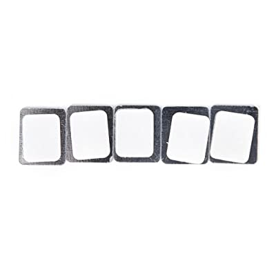 20X RECTANGLE Metal Stickers For Eyeshadow Palette