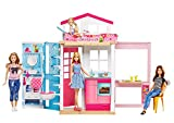 Barbie 2 Story House and Doll, Multi Color