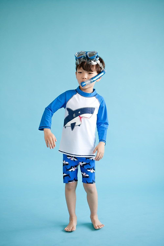 [Free Shipping]Vaenait Baby 2-7 Years Infant Boys Rashguard swimsuit Big  Jaws XL: Amazon.co.uk: Clothing