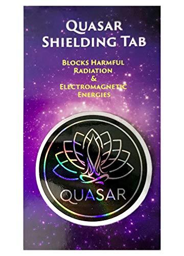 Quasar Shielding Tab - Anti Radiation Shield, EMF Blocker for Electronics