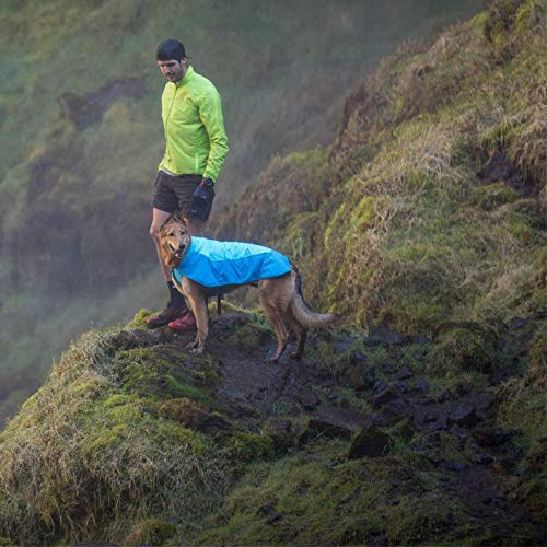 RUFFWEAR - Vert Waterproof Fleece Jacket for Dogs, Blue Atoll, Medium	 by RUFFWEAR (Image #9)