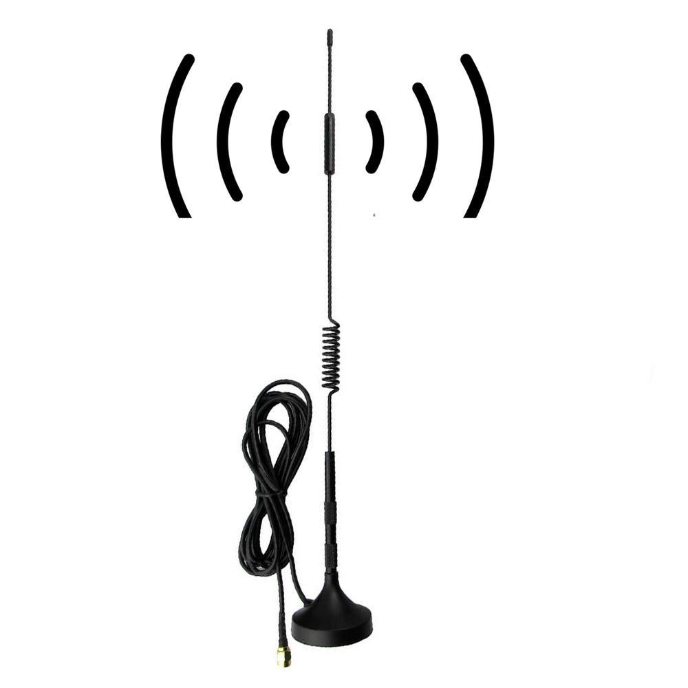 SMA Antenna 12dBi 4G Antenna, 700MHz-2700MHz Wide Band 3G 4G LTE GSM Magnet Mount Cellular Antenna by Woostars