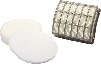 HEPA Foam /& Felt Filter Kit for XFF80 Shark NV70 NV80 NVC80C UV420 NV90