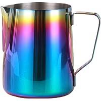 Bescita professionnel coloré en acier inoxydable Pichet à café latte Lait Pichet Café Art accessoire