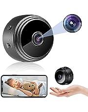 $74 » Spy Camera WiFi Wireless Video Camera 1080P HD Home Security Surveillance Cameras,Mini Cameras with Audio and Video,Hidden Portable Nanny Camera,Tiny Cameras for Indoor/Outdoor/Car Using