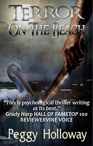 Terror on the Beach (The Judith McCain Series Book 3) by [Holloway, Peggy]