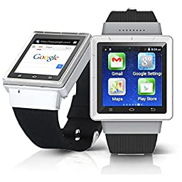 inDigi® Unlocked Android 4.0 Mini Tablet PC Watch Smart Phone Bluetooth ~AT&T / T-Mobile (US Seller)