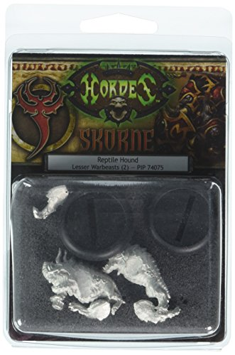 Privateer Press - Hordes - Skorne: Reptile Hounds Lesser Warbeasts Model Kit 3
