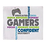 CafePress - Gamers - Soft Fleece Throw Blanket, 50''x60'' Stadium Blanket