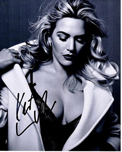 Kate Winslet Signed - Autographed TITANIC Actress 8x10 inch Photo - Guaranteed to pass BAS - Beckett Authentication