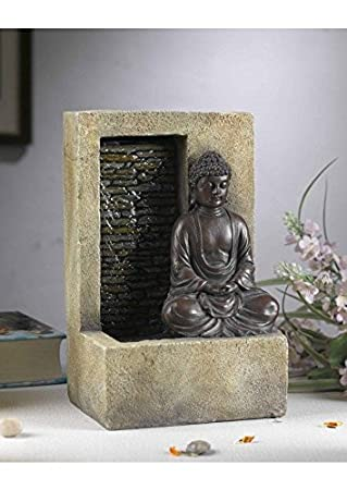 Jeco Buddha Tabletop Fountain