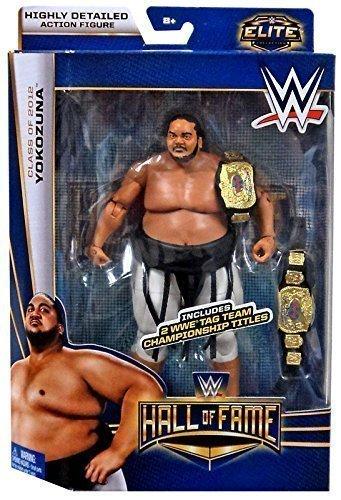 WWE Mattel Elite Action Figure- Hall of Fame Yokozuna Action Figure