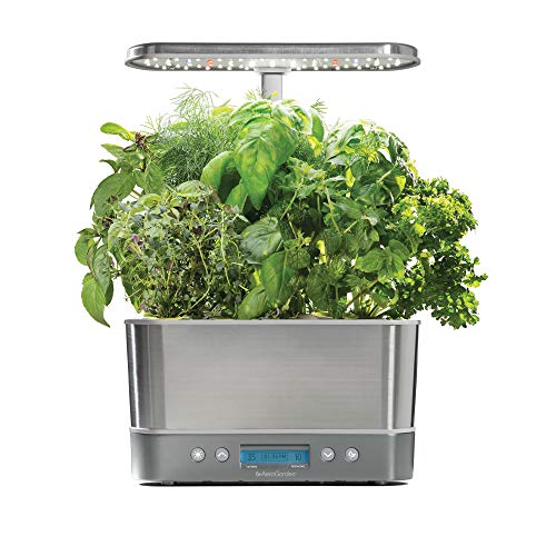 AeroGarden Harvest Elite Stainless