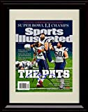 Framed Tom Brady Sports Illustrated Autograph Replica Print - Miracle Victory