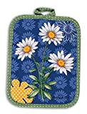 Daisy Dazzle Spring Bouquet Kitchen Pot Holder Kay Dee