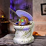 Gemmy Animated Haunted Toilet Halloween Decoration