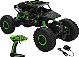 Saffire Remote Controlled Rock Crawler RC Monster Truck, Green