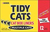 Tidy Cats Box Liners for Multiple Cats, 12-Count Liners (Pack of 6), My Pet Supplies