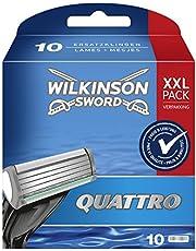 Wilkinson Sword Quattro męskie ostrza do golenia, 10 sztuk