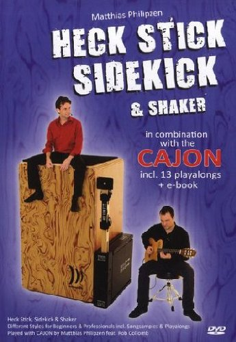 Stick Combination (Matthias Philipzen: Heck Stick, Sidekick And Shaker - In Combination With The Cajon [DVD])