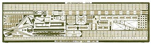 [해외]トムスモデル 1700 선용 에칭 미국 해군 함 인디애나폴리스 용 PE86 / Toms Model 1700 Etching for Ships U.S. Navy Cruiser For Indianapolis PE86