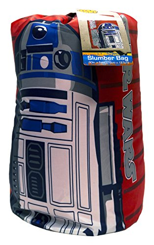 Star Wars R2D2 Slumber Bag, Bonus Backpack with Straps, - Girl R2 Brings D2