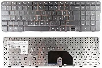 US Laptop Keyboard for HP Pavilion DV6-6000 With FRAME 665326-001 640436-001 NEW