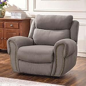 Amazon.com: Harper&Bright Designs Juego de sofá reclinable ...