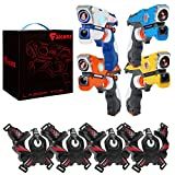 Falconz 4 Player Laser Tag Set with 4 Guns and Vests - Great