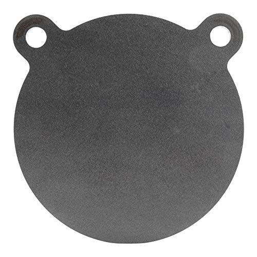 (ShootingTargets7 - AR500 Steel Gong Target - 6 x 1/4 inch for Pistols and Handguns - Laser Cut USA Steel)