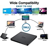 USB External DVD Drive COMPATIBLE for Microsoft Windows 10 / Vista /7/8.1, Mac OS, Dell ,Acer , ASUS, Apple , Samsung, Lenovo Laptop Notebook UltraBook PC Desktop,CD/DVD-RW Drive, CD-RW Rewriter