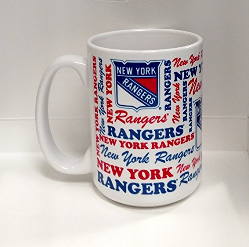 Coffee Rangers Mug (New York Rangers 15oz Sports Mug)
