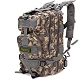 Aircee (TM) 30L 3P Mountaineering Camping Hiking Military Waterproof Assault Pack Tactical Backpack