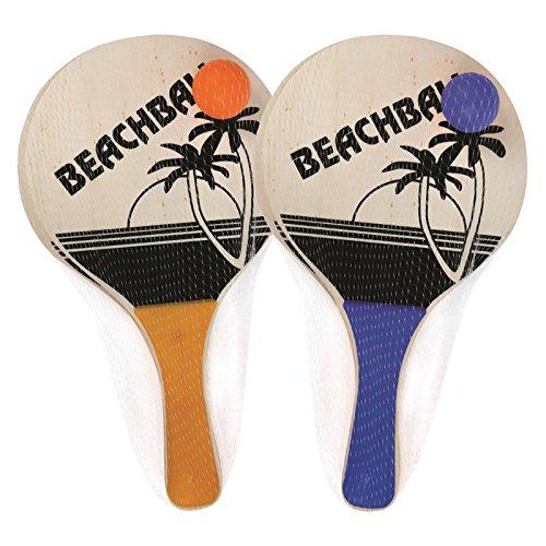 Home Fusion Juego de 2 bates de pádel de playa con 1 pelota de ...