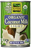 Native Forest, Organic Coconut Milk, Light, 13.5 oz