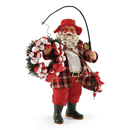 Spirit Santa (Department 56 Possible Dreams Catching The Spirit Santa Figurine, 11 inch)