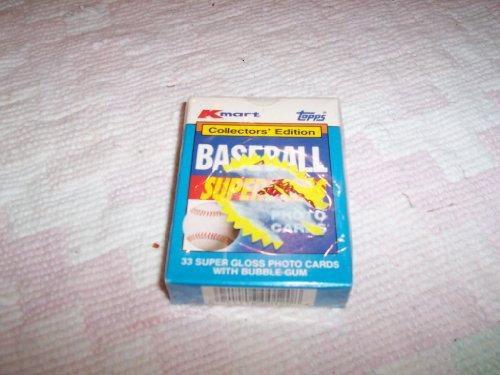 1990 Topps Baseball Kmart Superstars Factory Set