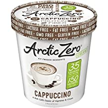 Arctic Zero Cappuccino Creamy Pint, 16 Ounce (pack of 6)