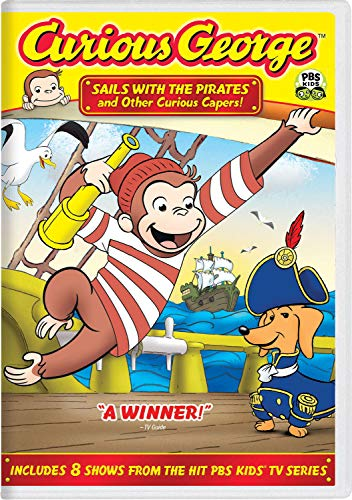 The Hardy Show Halloween (Curious George: Sails with the Pirates and Other Curious)
