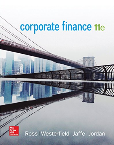 (Corporate Finance (The Mcgraw-hill/Irwin Series in Finance, Insurance, and Real Estate))