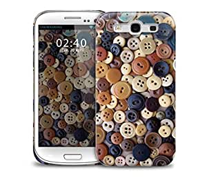 buttons Samsung Galaxy S3 GS3 protective phone case by icecream design