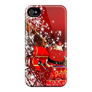 Durable Back To The North Pole Back Case/cover For Iphone 4/4s