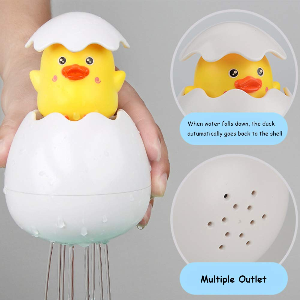 Lovely Plastic Penguin Bathing Shower Shape Baby Kids Bath Toys Water Spray Baby Toys Water Spraying Tool Toys For Children Warm And Windproof Classic Toys