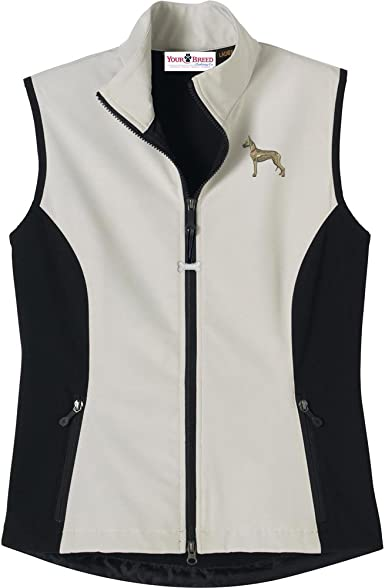 Great Dane Mens High Tec Vest Bone Zipper Pull