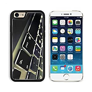 Keyboard Flat Button Advanced Technology Apple iPhone 6 TPU Snap Cover Premium Aluminium Design Back Plate Case Customized Made to Order Support Ready Luxlady iPhone_6 Professional Case Touch Accessories Graphic Covers Designed Model Sleeve HD Template Wallpaper Photo Jacket Wifi Luxury Protector Wireless Cellphone Cell Phone