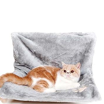 LA VIE Hamaca Gato Cat Hammock Cama Asiento Colgante Suave y Cómoda para Gatito Hurón Perrito o Otros Mascotas Pequeñas: Amazon.es: Productos para mascotas